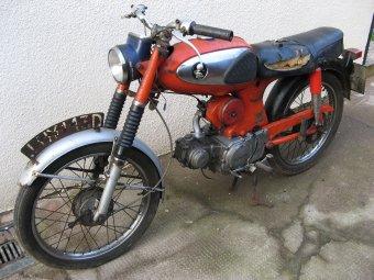 1966 honda s90 specs